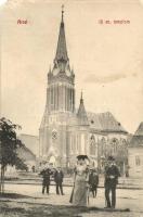 Arad, Evangélikus templom / church (EM)