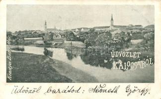 1899 Kalocsa, kiadja Behr Mór