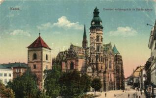 Kassa, Kosice; Erzsébet székesegyház, Orbán torony / chatedral, tower (EB)