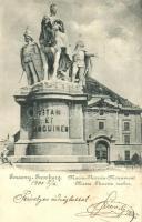 Pozsony, Pressburg, Bratislava; Mária Terézia szobor / statue