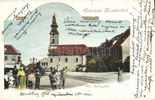 Zombor, Sombor; Szent György tér / square (b)