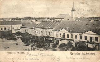 Szabadka, Subotica; Fő tér / main square (fa)