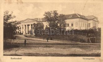 Szekszárd, vármegyeház, kiadja Kaszás Sándor (EK)