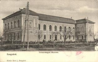 Szekszárd, Tolna-megyei múzeum, kiadja Árva J. (fa)