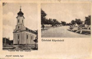 Kápolna, Katolikus templom (b)