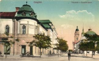 Cegléd, Városház, Kossuth tér (fl)