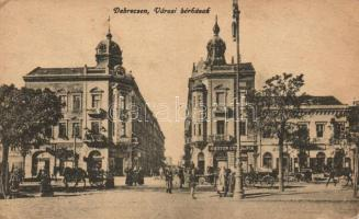 Debrecen, Városi bérházak, Marton Gyula és fia üzlete (EK)