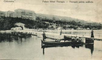 Crikvenica, Cirkvenica; Therapia palota szálloda / hotel (EB)
