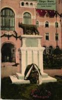 Marosvásárhely, Targu Mures; Latin szobor, kiadja Révész Béla (EK)