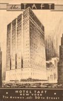 New York, Hotel Taft