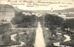 Szekszárd, Múzeumpark, kiadja Krammer Vilmos (fa)