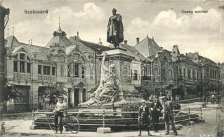 Szekszárd, Garay szobor, kiadja Molnár Rt. könyvkereskedése 1916