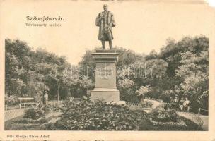 Székesfehérvár, Vörösmarty szobor, kiadja Eisler Adolf (b)