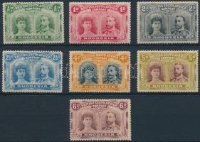 Forgalmi 7 érték Definitive 7 stamps
