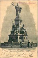 1899 Arad, A 13 vértanú szobra / statue (EK)