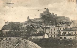 Trencsén, Trencín; Vár / castle (Rb)