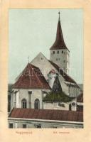 Nagyenyed, Aiud; Református templom, kiadja Winkler János / church (EK)