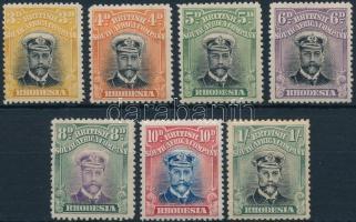 V. György király 7 érték King George V 7 stamps