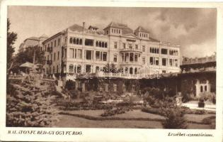 Balatonfüred-gyógyfürdő, Erzsébet szanatórium