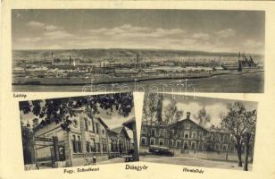 Miskolc, Diósgyőr, vasgyár, hivatalház, Szövetkezet