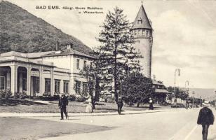 Bad Ems, Badehaus, Wasserturm / spa, Water Tower