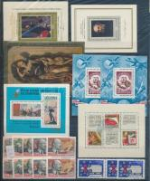 Szovjetunió Közel 350 db bélyeg sorokkal, duplákkal + 35 blokk + 5 kisív, 5 berakólapon (Mi EUR 450,-)