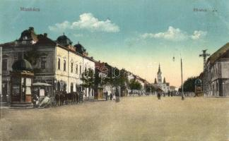 Munkács, Mukacheve; Fő utca / main street