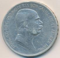 Ausztria 1909. 5K Ag Ferenc József T:2-,3 Austria 1909. 5 Corona Ag Franz Joseph C:VF,F Krause KM#2813