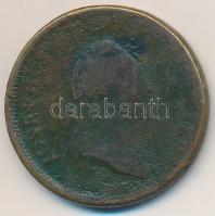 Ausztria 1780W 1kr Cu II. József T:3 oxidáció Austria 1780W 1 Kreuzer Cu Joseph II C:F corrosion Krause KM#2056