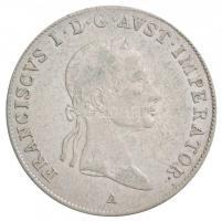 Ausztria 1832A 20kr Ag I. Ferenc Bécs (6,65g) T:2 juszt. /  Austria 1832A 20 Kreuzer Ag Franz I Vienna (6,65g) C:XF adjustment Krause KM#2147
