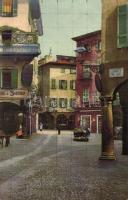 Lugano, Piazza Commercio / square