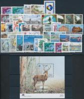Europe 41 stamps + 1 block, Európa motívum 41 db bélyeg + 1 blokk