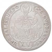 Osztrák Államok / Salzburg 1690. 15kr Ag Johann Ernst (5,6g) T:2 /  Austrian States / Salzburg 1690. 15 Kreuzer Ag Johann Ernst (5,6g) C:XF Krause KM#250