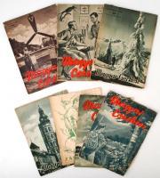 1938-1940 A Magyar Cserkész és a Zászlónk című cserkész újságok 8 db száma, egyik hiányos