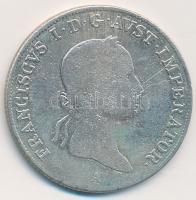 Ausztria 1833A 20kr Ag I. Ferenc (6,49g) T:2- ph. Austria 1833A 20 Kruzer Ag Franz I (6,49g) C:VF edge error Krause KM#2147