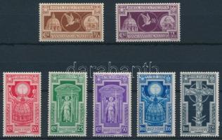 1933 Szent év sor Mi 452-458