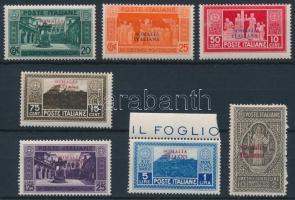 1929 Monte Cassino sor Mi 127-133
