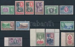 Forgalmi sor British Honduras Definitive set