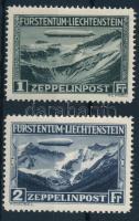 1931 Zeppelin sor Mi 114-115