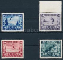 1933 FIS sor Mi 551-554