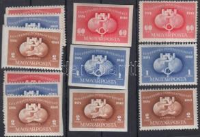 1949 UPU A,B és 2 x C (7.300)
