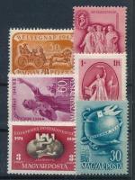 1947-1950 6 klf érték (9.100)
