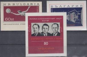 1966-1974 3 db blokk