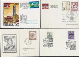 Ausztria, Magyarország, ENSZ 1981 WIPA 7 db küldemény