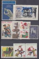 1965-1969 10 db levélzáró