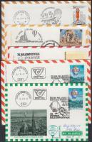 1981-1984 Pro Juventute 5 db ballonposta levél