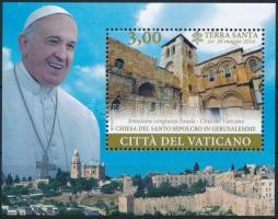 Papal Travel block, A pápa utazása blokk