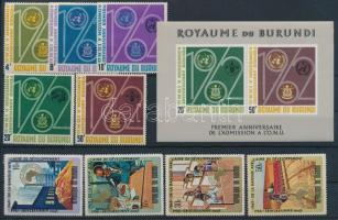 Burundi 2 sor + 1 blokk 1963-1970