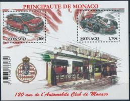 2009 30 éves a Monaco-i Autóklub blokk Mi 95