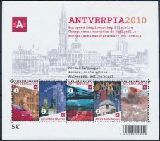 Stamp Exhibition ANTVERPIA block, Bélyegkiállítás ANTVERPIA blokk